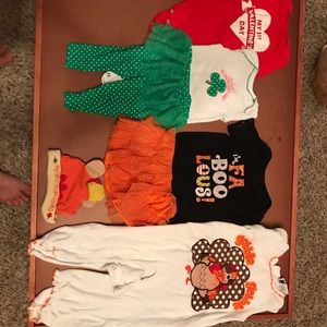 Other - 🍗🍀4 Holiday outfits🎃♥️